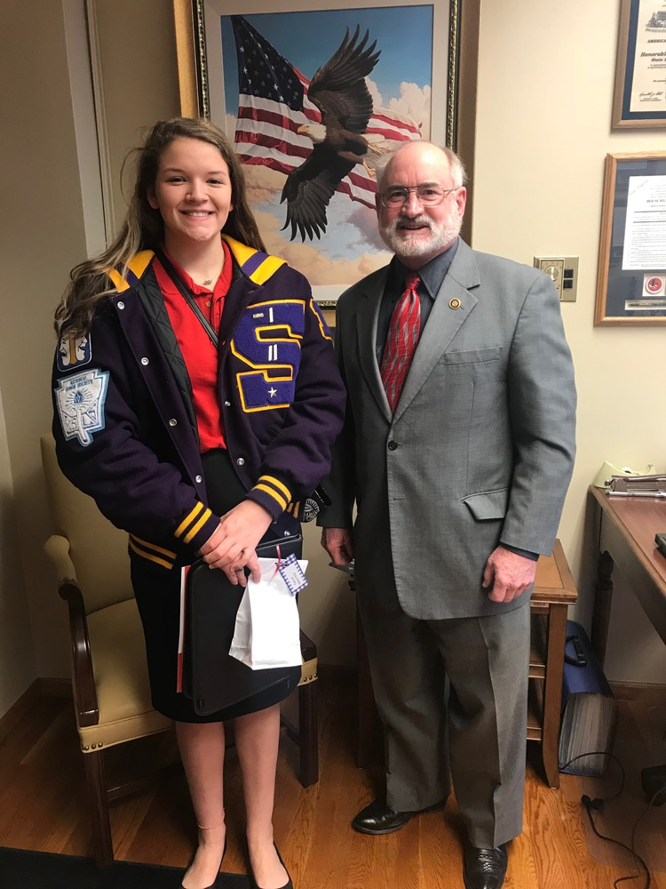 Salisbury FCCLA Junior Participates in Legislative Shadowing Project