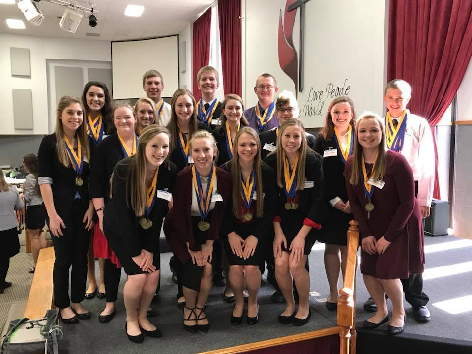 Salisbury FBLA Advances to State Competition