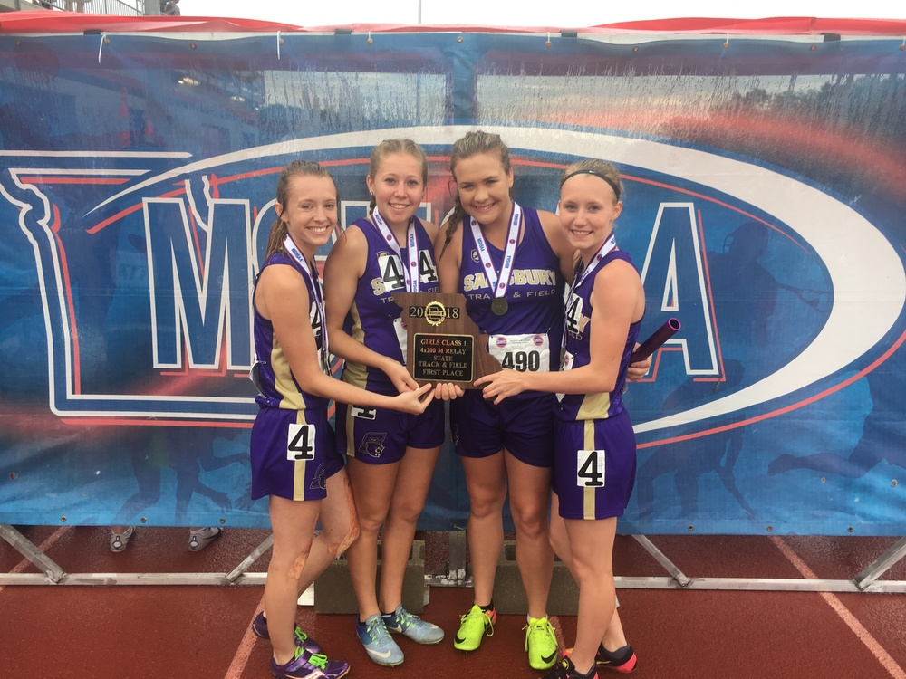 Salisbury Panther Lady Runners Conquer State