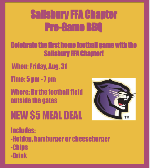 FFA to Host Pre-Game BBQ