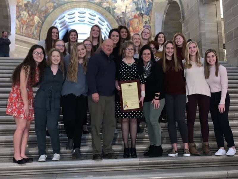 SHS Softball Champions Honored at Jefferson City