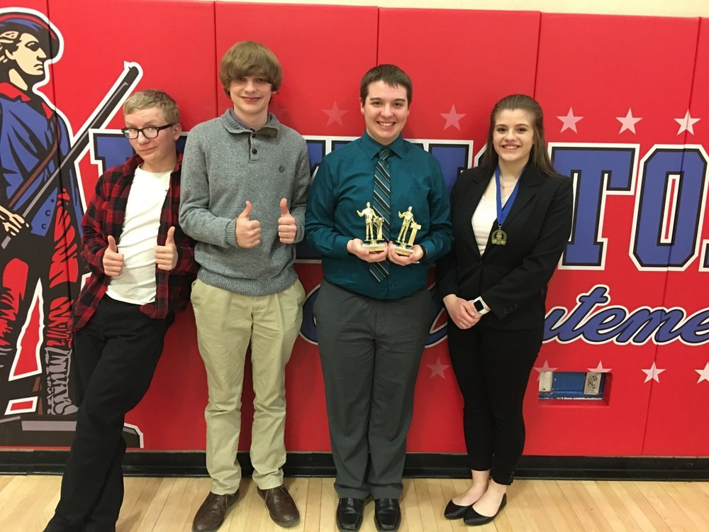 Speech Team Competes at Last Regular Season Tournament