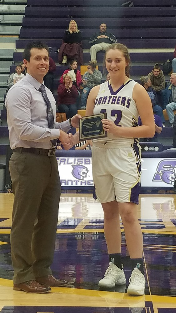 Bryn Wooldridge reaches 1000 points for her career