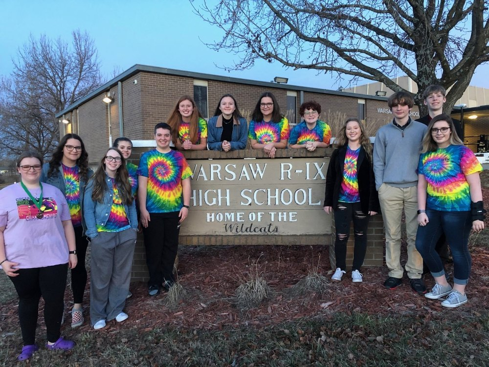 SHS Speech Team Competes at Warsaw