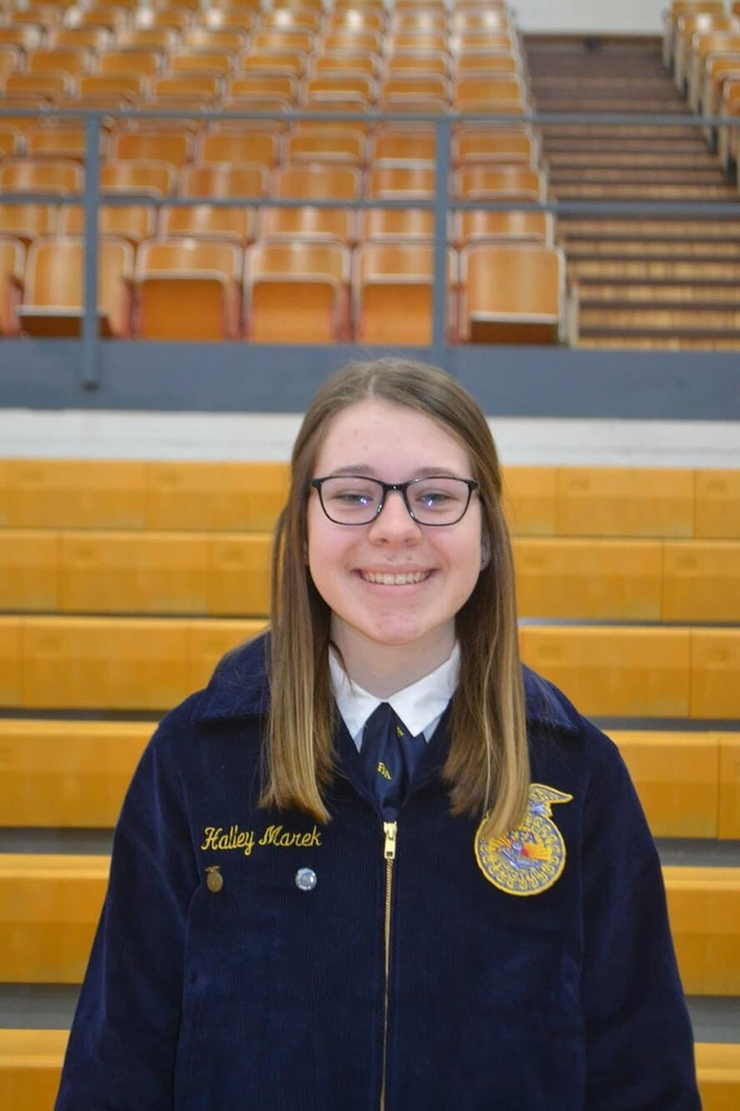 Halley Marek Selected for FFA HYMAX Academy