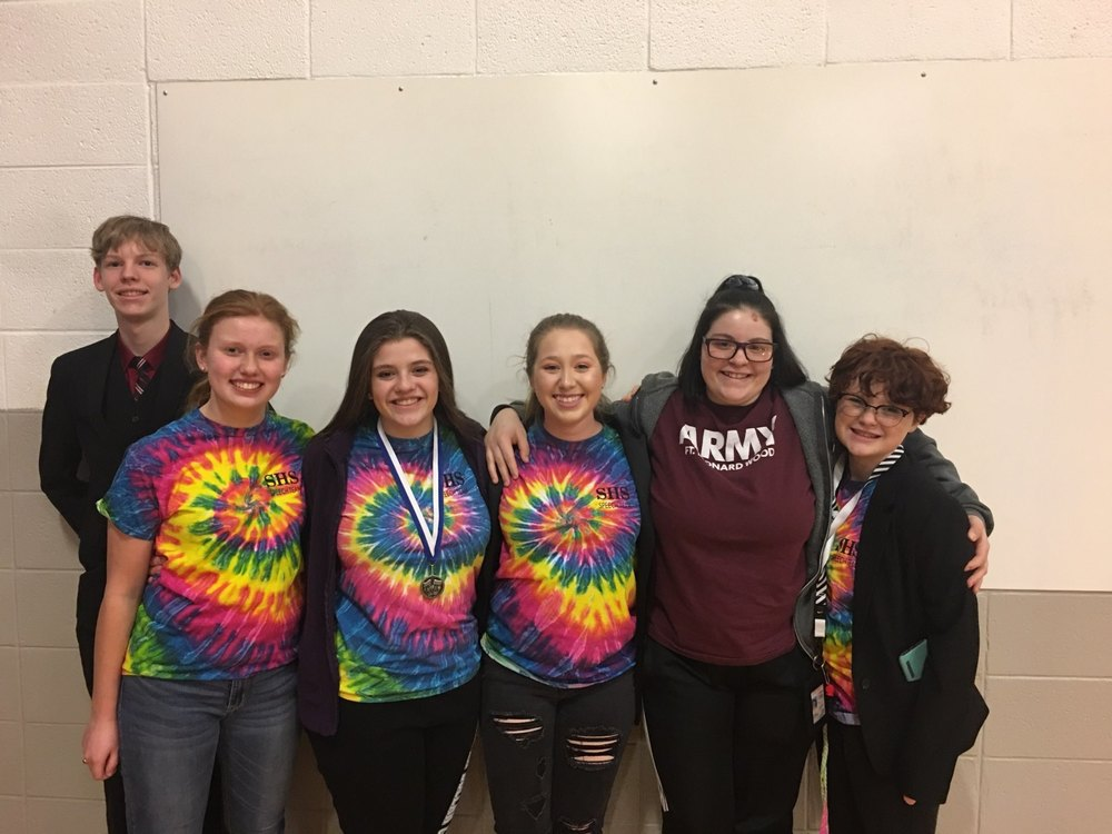 SHS Speech Team Competes at Cole Camp