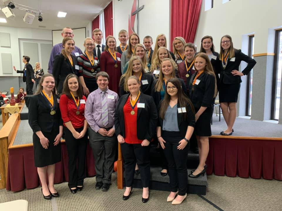 Salisbury FBLA Chapter attends District Competition