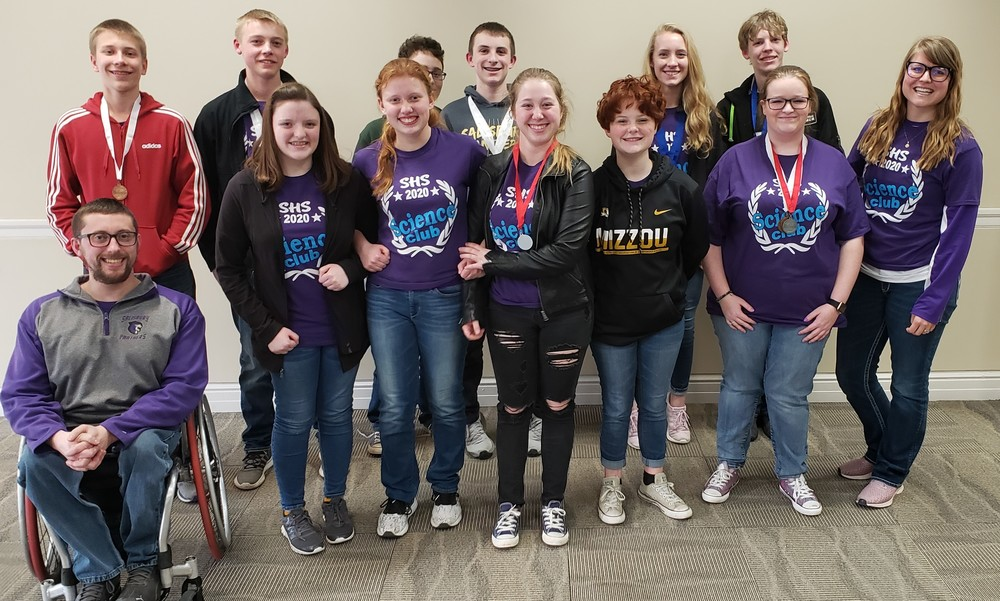 SHS Science Olympiad competes at Regionals