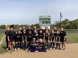 Lady Panther Softball Team Claims Class 1 District 7 Title