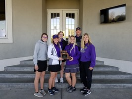 Lady Panther Golfers Place 2nd at District Meet